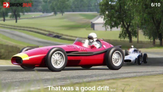 Assetto Corsa & Donington 1938 & Maserati 250F & Demo race