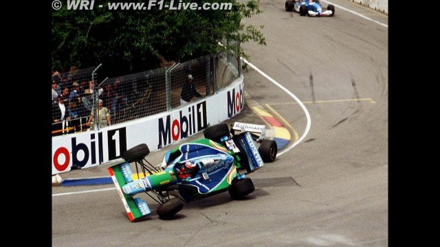 FIRST CHAMPIONSHIP FOR SCHUMACHER,LAST WIN OF MANSELL- ADELAIDE 1994