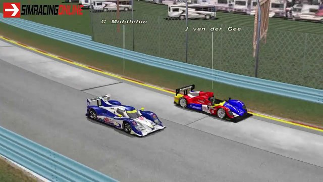 rFactor Online Multiclass - My best moments