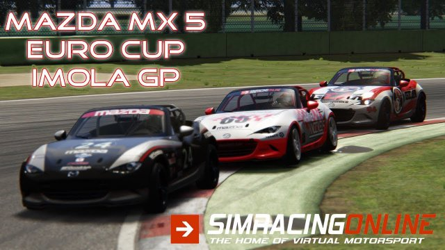 Mazda MX5 Cup - Imola GP - Assetto Corsa - Simracingonline.co.uk