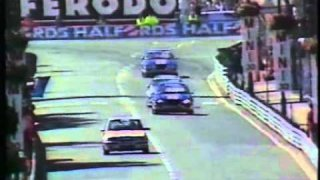 1989 - Birmingham Superprix - Highlights of the BTCC race