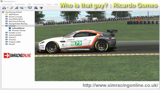 Sim Racing Online & Who is that guy? & Ricardo Gomes