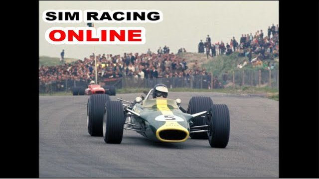 SimRacingOnline F1 Classic Series 1967 - Round 5 from Charade