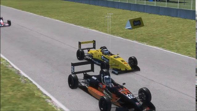 rf2 USF2000 road america race highlights