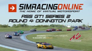 SimRacingOnline RSS GT1 Series 2 Round 4 at Donington Park
