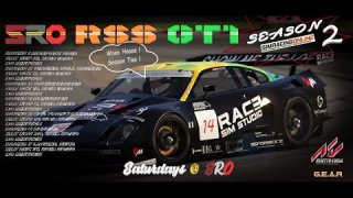 SimRacingOnline RSS GT1 Series 2 - Round 2 from Virginia International Raceway