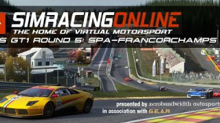 SimRacingOnline RSS GT1 Series 2 - Round 5 from Spa-Francorchamps