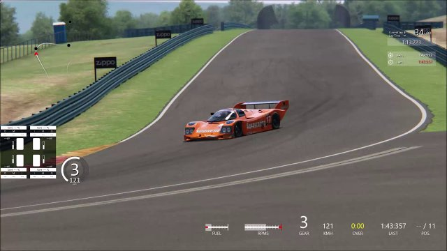 Assetto Corsa | Group C Honey Jar Series | Watkins Glen | Last corner last lap