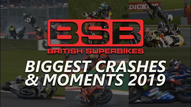 Biggest Crashes & Moments of British Superbikes 2019