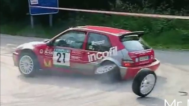 Rally FAILS Compilation - Crazy and WTF scenes | HD