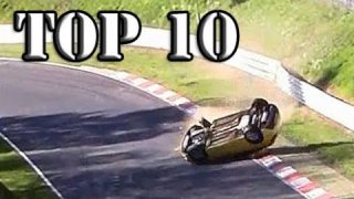 Top 10 of Hardest Crashes on Nürburgring Nordschleife / Crash Compilation 2013-2017
