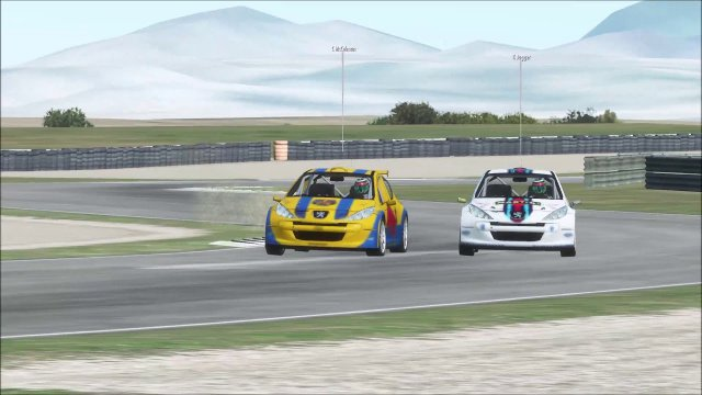 rfactor 2 | Mores | Peugeot Sport 207 Cup | Fight for the runner-up championship