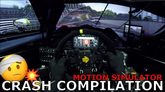 Motion Simulator Car Crash & Fail Compilation Onboards 2019