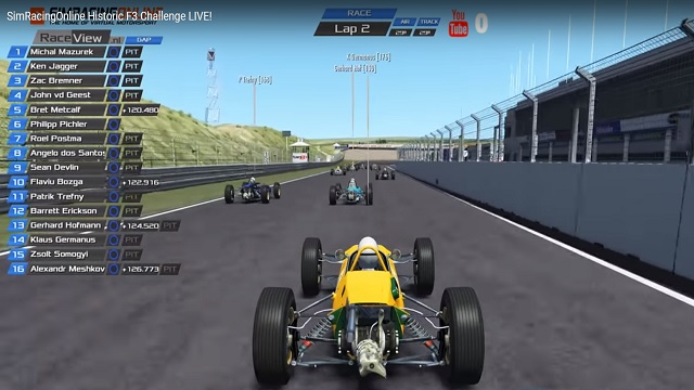 Historic F3 Challenge Live Broadcasts