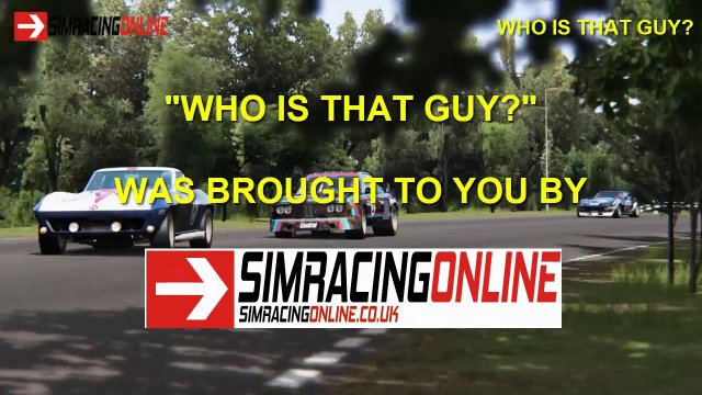 Sim Racing Online - Team Speak Interview with John vd Geest