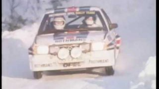 RALLYING in the 1980's