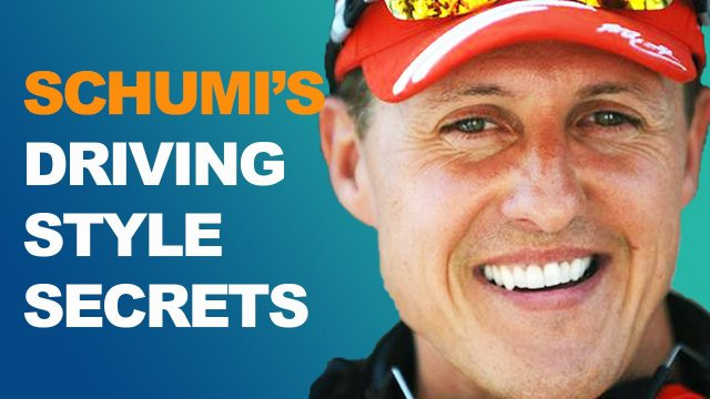 How Schumacher's Driving Style Won 7 F1 Championships