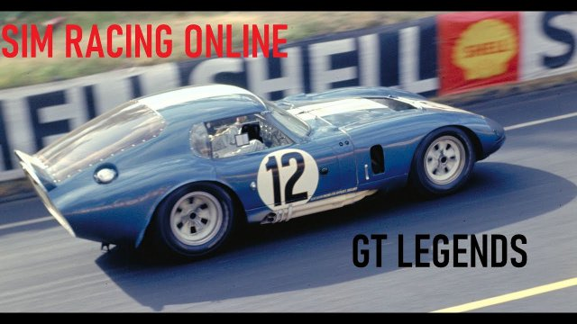 SimRacingOnline - GT Legends Classic Sports Car Racing - Round 3 from Donington