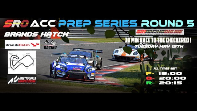 SRO FKR Prep Series - Race 5 - Brands Hatch - Assetto Corsa Competizione