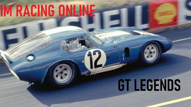 SimRacingOnline - GT Legends Classic Sports Car Racing - Round 7 from the Nurburgring Sudschleife