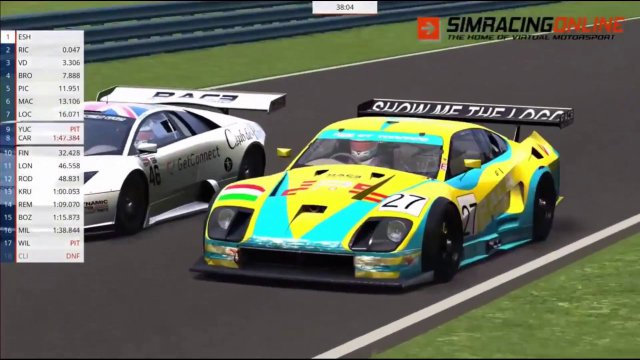 Assetto Corsa RSS GT1 Season highlights - Round 3 Watkins Glen