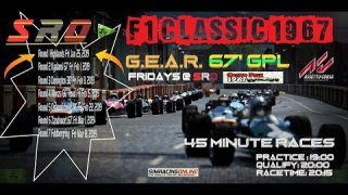 Assetto Corsa F1 1967 GPL Broadcasted Series