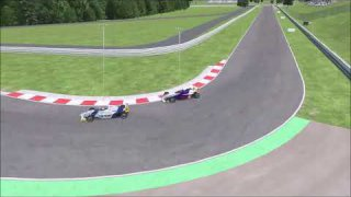rf2 Formula BMW Hungaroring | race highlights