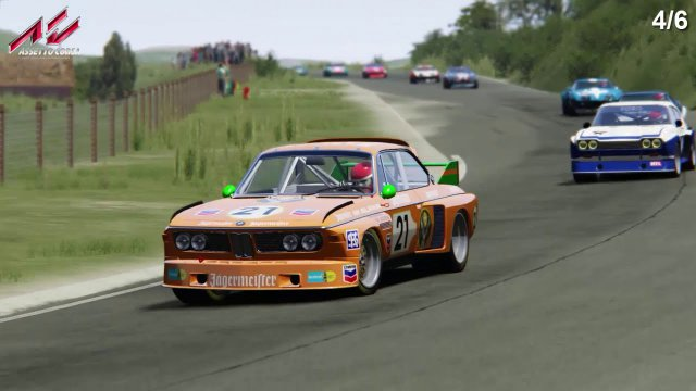 Assetto Corsa - Sandevoerde Full version - GT Legends - Test race against the AI